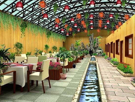 生态餐厅搭建厂家