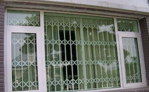 防盗窗纱窗一体