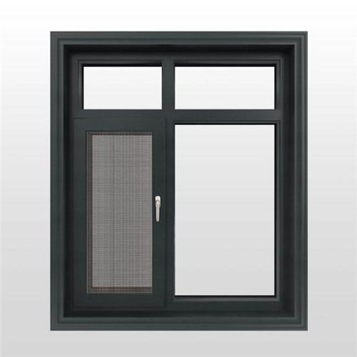 六盘水窗纱一体平开窗