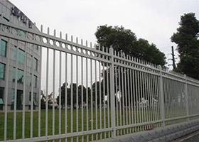 锌钢护栏网-小区围栏