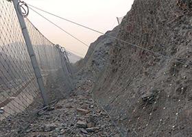 边坡防护网 被动边坡防护网