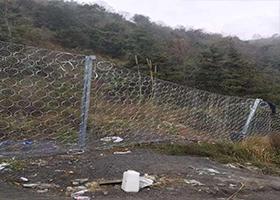 边坡防护网 钢丝绳网 安全防护网