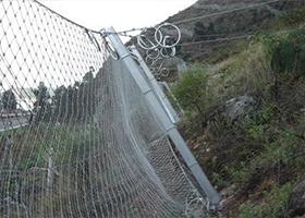 SNS边坡防护网 柔性防护网 钢丝绳防护网