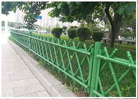 云南不锈钢竹篱笆 景观园艺护栏庭院围栏栅栏竹节管护栏