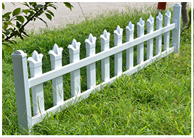 PVC绿化工程-小区护栏