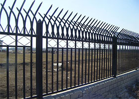 锌钢护栏-黑