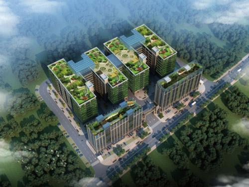 工业园区景观设计
