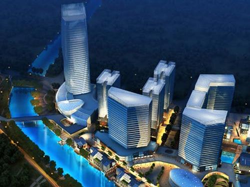 城市综合体建筑设计