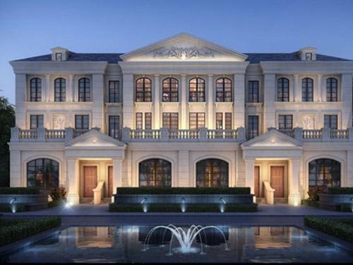 欧式多层住宅设计