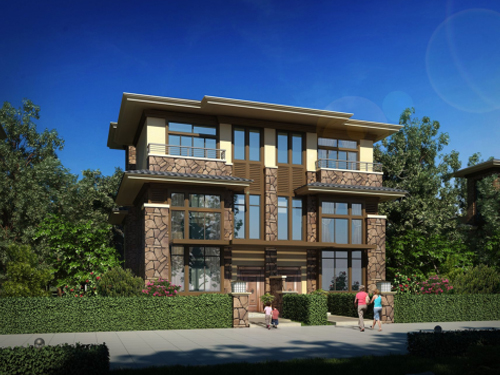 私人多层住宅设计