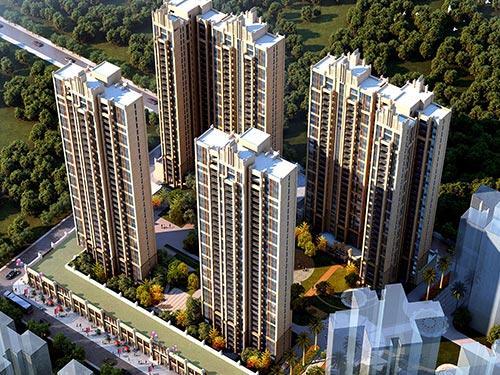 欧式高层住宅设计