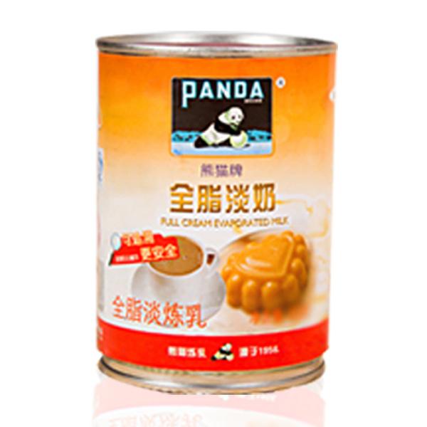 熊猫全脂淡奶