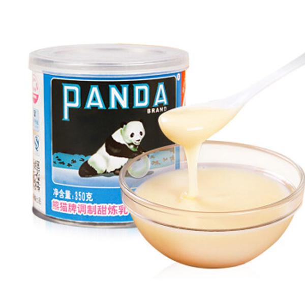 熊猫调制甜炼奶