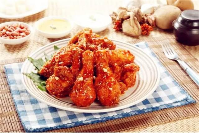 韩式琥珀炸鸡