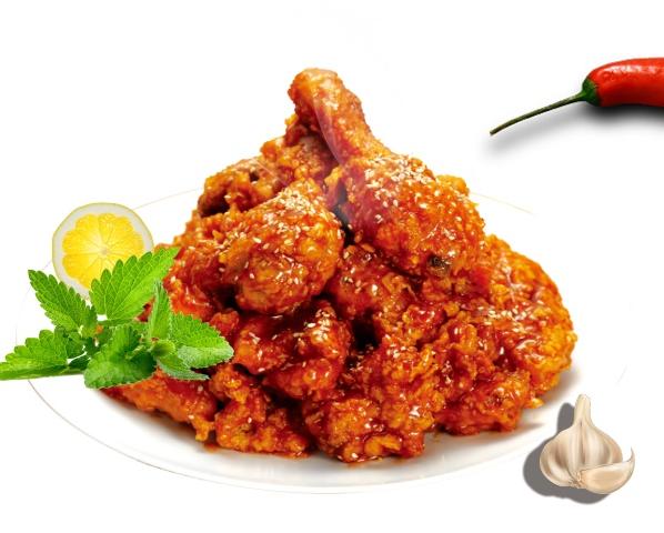 韩式辣味炸鸡