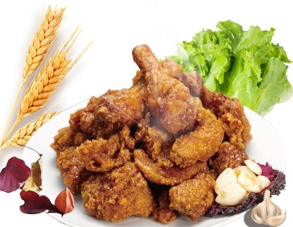 韩式蒜香炸鸡