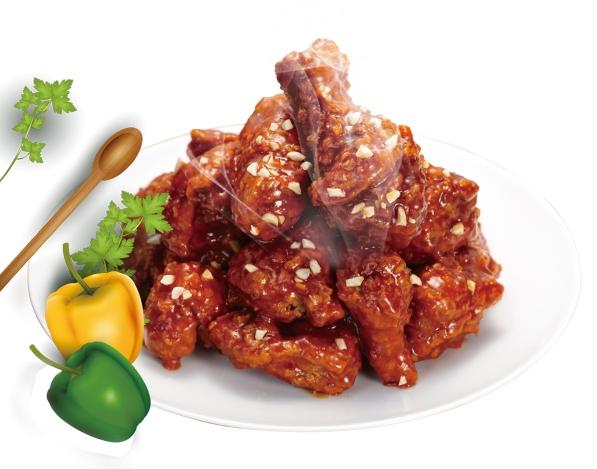 韩式甜辣炸鸡