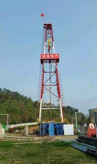 温泉钻井工程