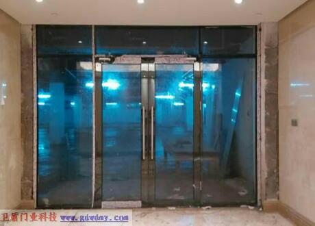 高檔防火玻璃門