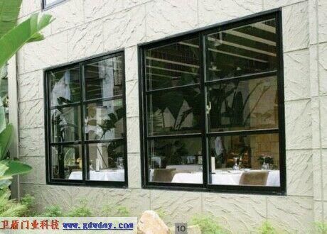 复合防火玻璃窗