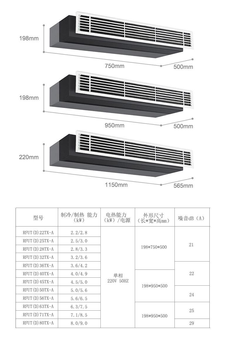 VX6MINI家用中央空調