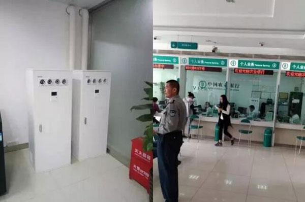 新风系统农商行银行项目