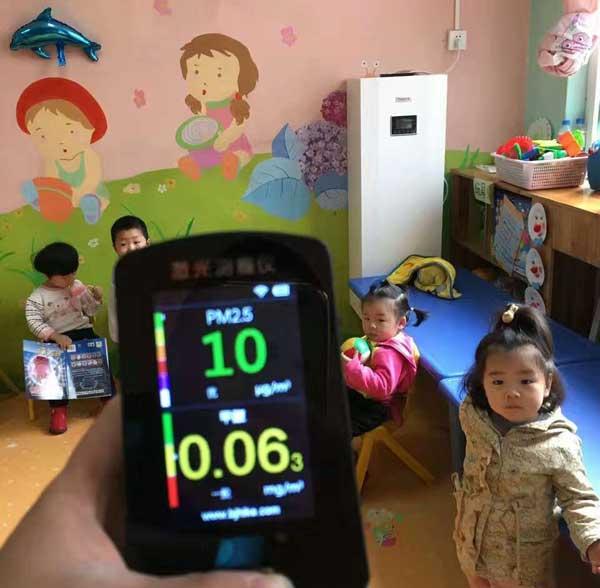中国科学院幼儿园新风安装案例