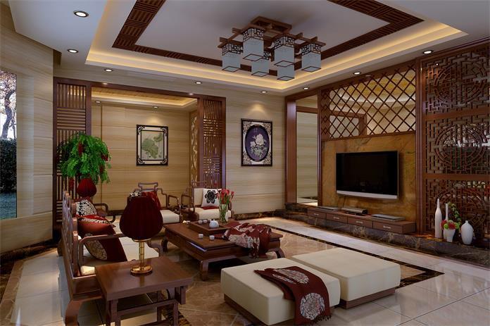 古典中式-客厅
