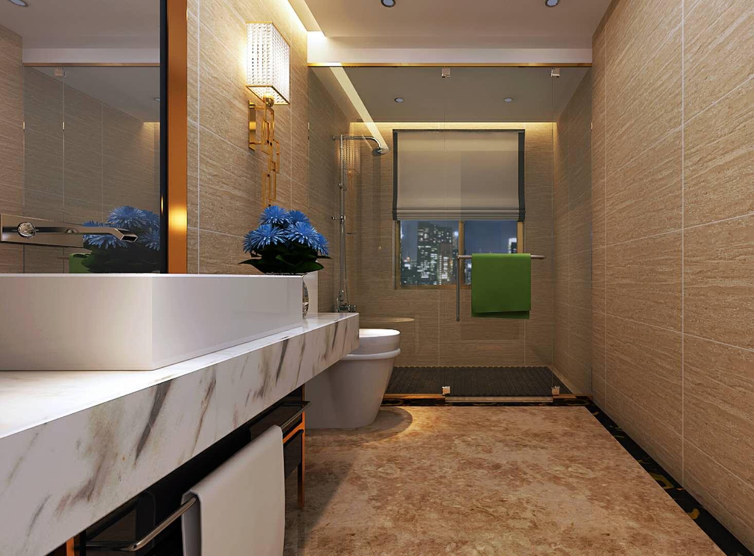 博山新中式家庭装修公司案例