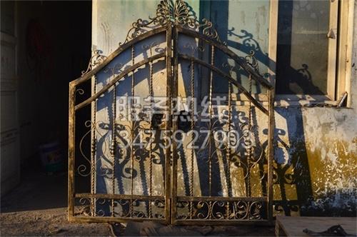 消防栓護欄廠家安裝鐵藝圍牆