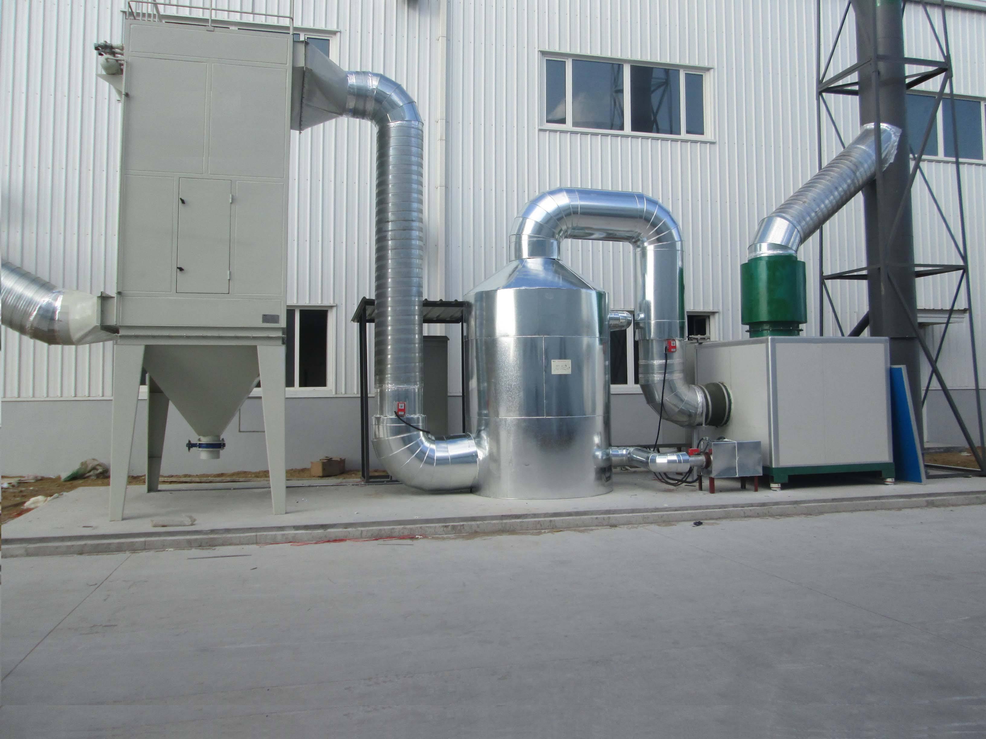 蓄热式催化燃烧系统