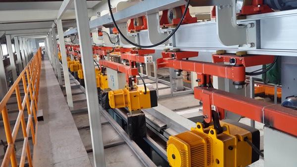 工程机械电泳生产线