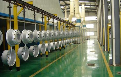 板簧电泳生产线