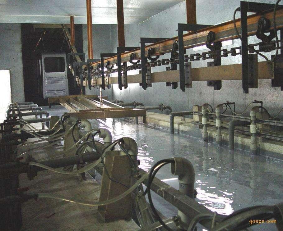 机械电泳生产线