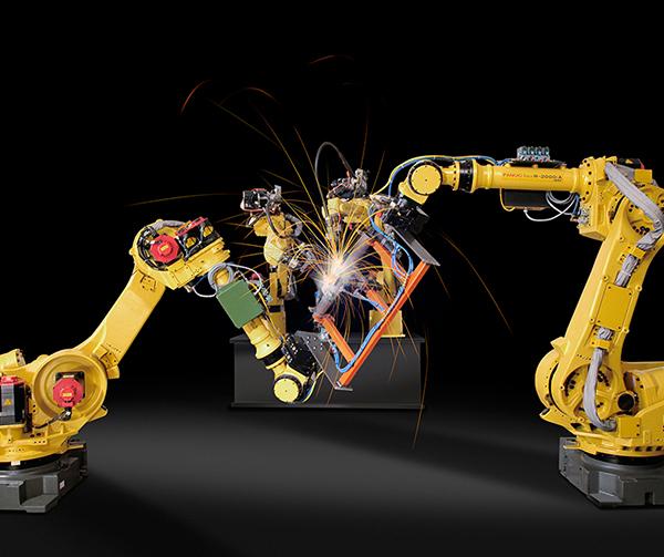 朝阳法那科自动化机械臂