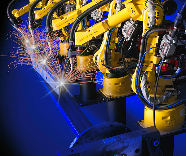 大连工业法那科机械臂