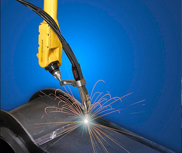 朝阳法那科自动化焊接机器人