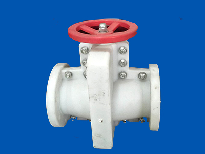 工業塑料管夾閥