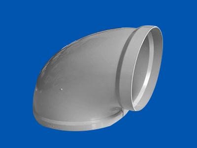 PP塑料風管彎頭