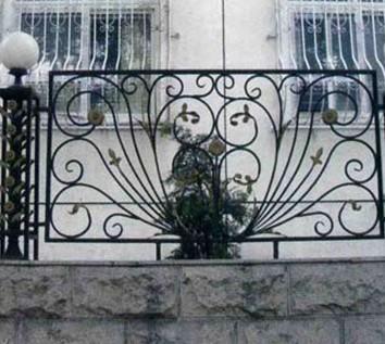 张家口阳台铁艺护栏