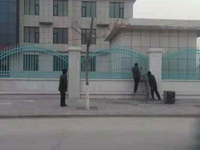 沧州河北铁艺围栏安装