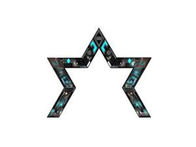 LED创意五角星屏