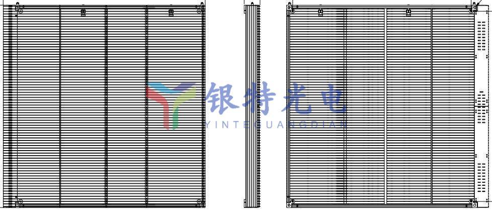 户内外SMD透明LED全彩屏