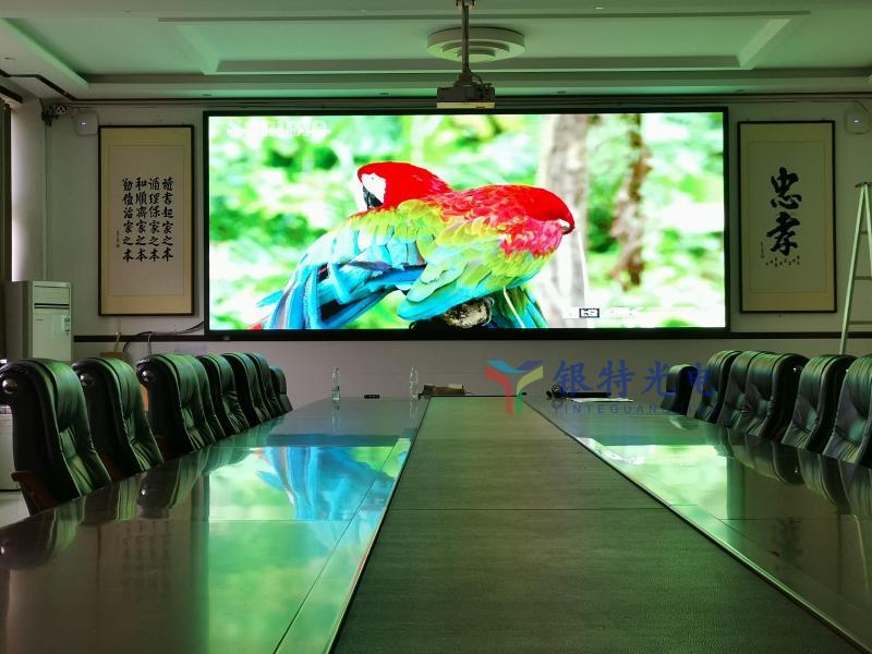 周口市某学校户内高清LED全彩显示屏
