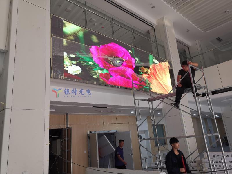 郑州市某医院户内高清LED全彩屏