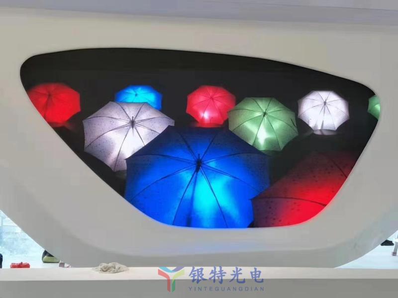 安徽合肥某商场LED异形全彩屏