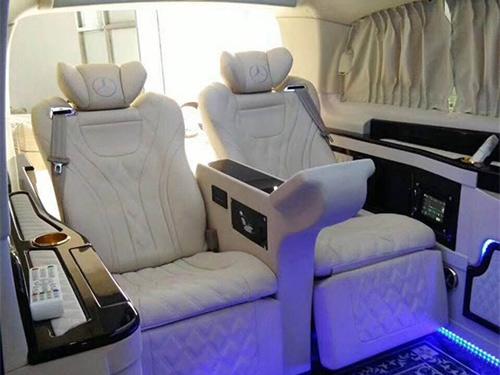 奔驰V250商务改装