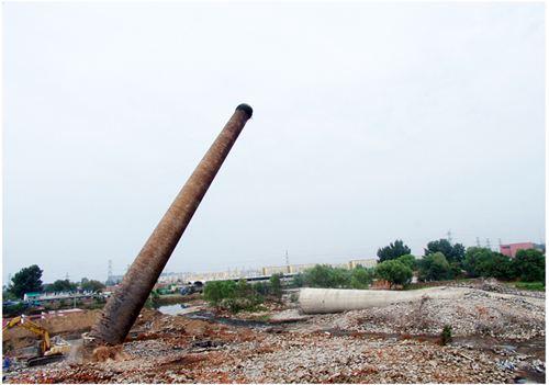 水泥烟囱拆除加高