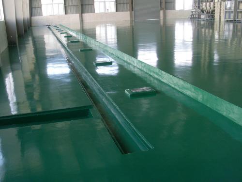 环氧树脂玻璃钢地坪