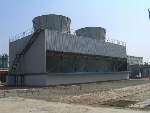 双曲线冷却塔内壁防腐